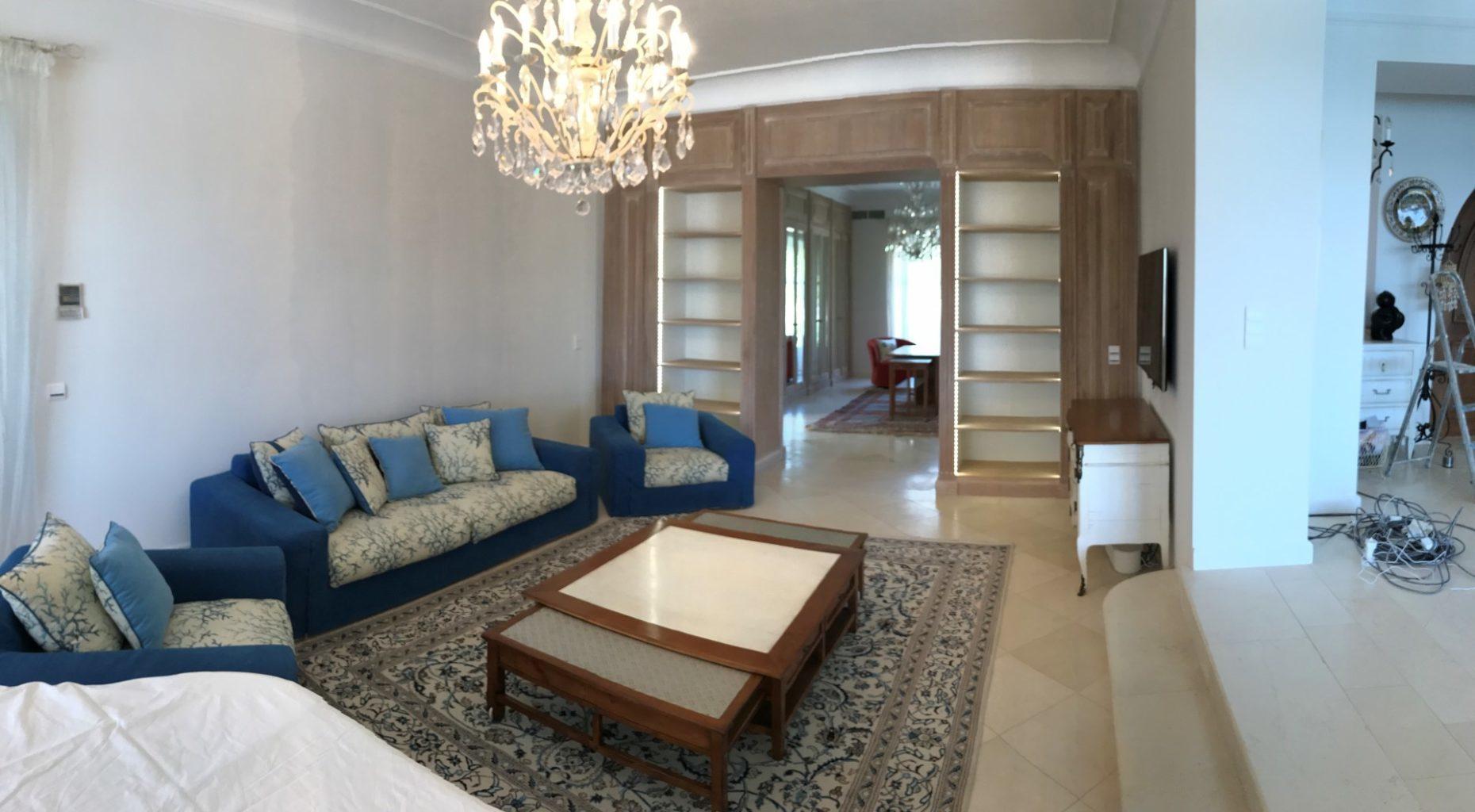 travaux de r novation d 39 une maison cannes 06 alpes maritimes. Black Bedroom Furniture Sets. Home Design Ideas