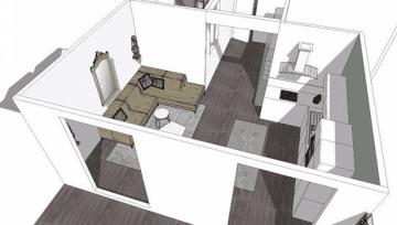 Travaux de rénovation complète d'un appartement - Nice